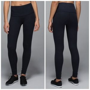 Lululemon Wunder Under Pant Cotton Roll Down
